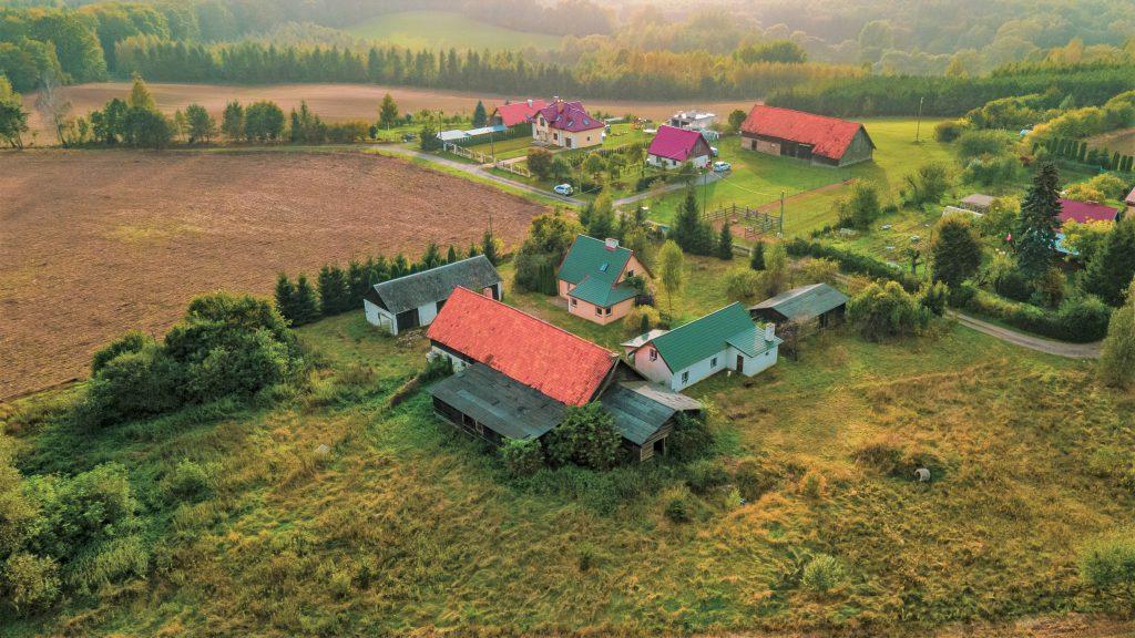Siedlisko idealne pod agroturystykę bądź stadninę koni, Szyldak Kolonia gm. Ostróda