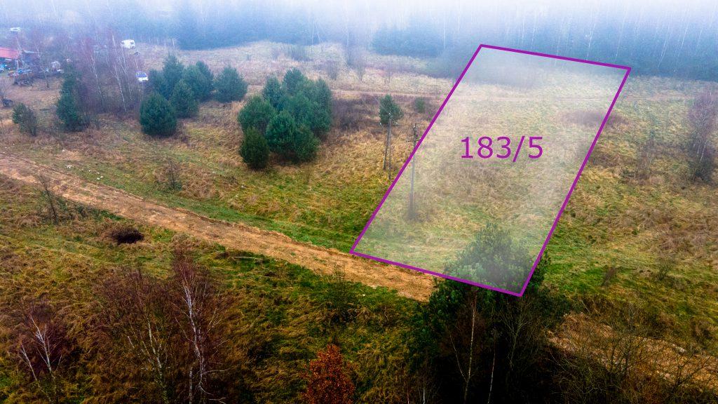 Działka rolna pod Ostródą, możliwość uzyskania WZ